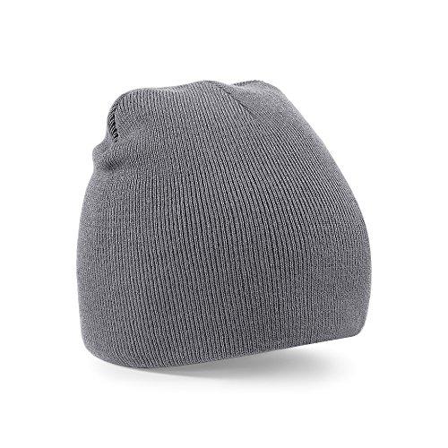 beechfield-beanie-graphite-grey