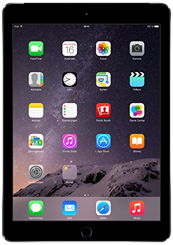 Apple iPad Air 2 24,6 cm (9,7 Zoll) Tablet-PC (WiFi/LTE, 128GB Speicher) spacegrau (Ipad Air 2 128 Cellular)
