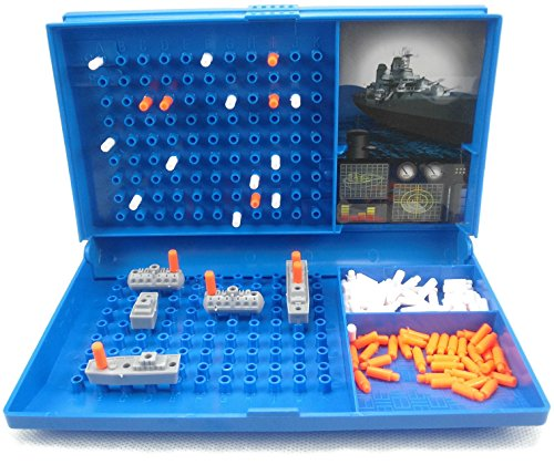 Warship Games for Children and Adults Net4Client® Classic Board Games for Kids Battle Ship Toy Battleships Grid 2 Player Board Games