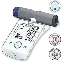 Beurer 658.03 BM 85 Digital Tensiómetro de brazo con extra grande manguito, indicador de suspensión