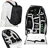 7dayshop Photographers Backpack Rucksack - Camera Bag for DSLR Cameras Incl. Canon EOS and Nikon