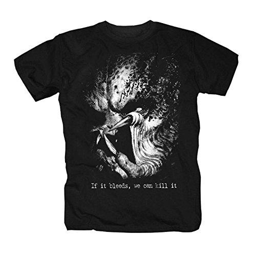 Predator T-Shirt, Schwarz, XXL