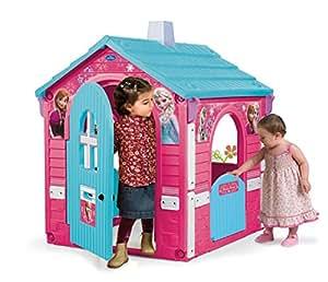 Disney Injusa–Maison de jouet Frozen 110.0 x 89.9 x 25.9 Rose/bleu