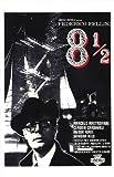 Federico Fellini 81/2(Otto e mezzo)–montato Movie Poster