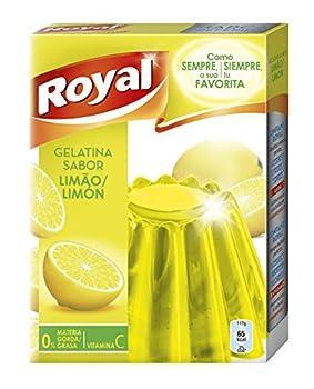 Royal - Gélatine Goût Citron - 170Gr