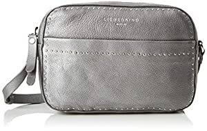 Liebeskind Berlin Slcambags Slov2m - Borse a tracolla Donna, Argento (Silber (Iron Silver)), 6.0x23.0x16.0 cm (B x H T)