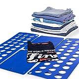 Comprar Doblador de Ropa 123 Fold al mejor precio. Es un sencillo aparato que le permitirá tener toda la ropa de su hogar perfectamente doblada y ordenada. Con un sencillo movimiento de tres pasos tendrá perfectamente dobladas camisas, jerséi...