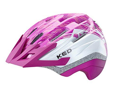 KED Fahrradhelm Dera in der Größe S/M (Kopfumfang 49-55 cm) mit der Farbe Violet Pearl, Extrem Gut Belüfteter Allrounder-Helm in Robuster maxSHELL- Technologie und...