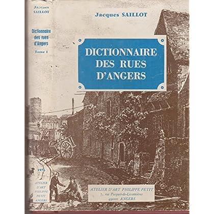 Dictionnaire des rues d'Angers