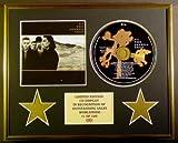 U2/CD-Darstellung/Limitierte Edition/COA/THE JOSHUA TREE
