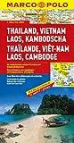 MARCO POLO Kontinentalkarte Thailand, Vietnam, Laos, Kambodscha 1:2 Mio. (MARCO POLO Kontinental /Länderkarten)