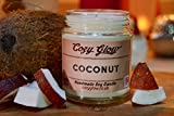 Best Glow Candles - Cozy Glow Coconut Soy Candle 30 Hours Burn Review