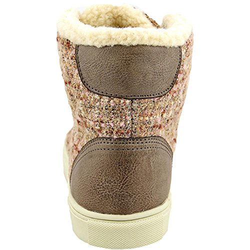 Madden Girl Everestt Femmes Toile Baskets Stone Multi