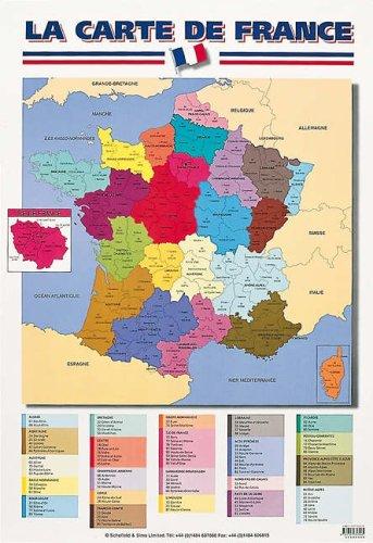 La Carte De France par Schofield & Sims