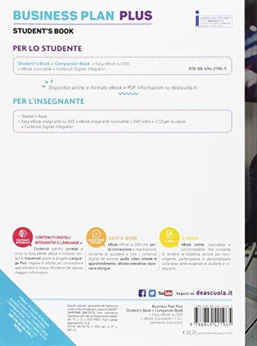 Business plan plus. Student's book-Companion book. Per le Scuole superiori. Con e-book. Con espansione online. Con DVD-ROM