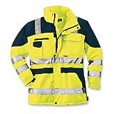 ELUTEX Warnschutz-Parka Safety Plus, 1 Stück, L, gelb/navy, 8406