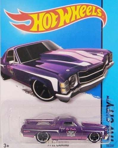 Preisvergleich Produktbild HOT WHEELS® El Camino - 1971er Chevrolet Pickup Oldtimer - 1:64 - purple metallic