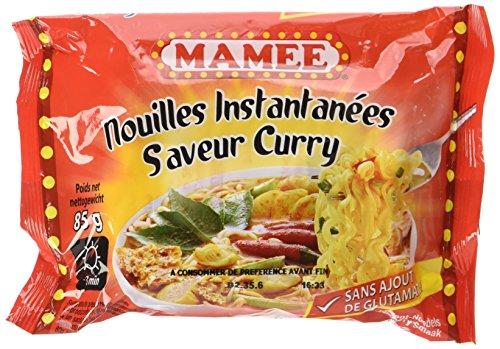MAMEE Nouilles Instantanées Arôme Curry - Lot de 10
