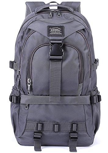 Kaukko zaino multifunzionale per escursionismo, viaggi, unisex laptop zaini,grigio