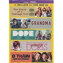 Coffret cinéma indépendant: The Diary of a Teenage Girl + Grandma + Dope + Hello, My Name Is Doris + The D Train