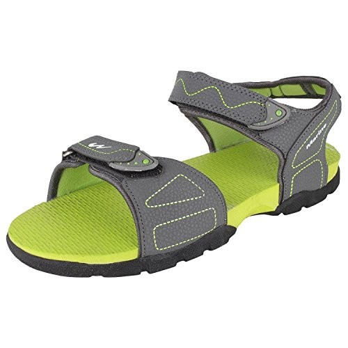 Action Campus RS series Dark Grey & Pista Green Casual Sandal For Men (Size 8UK)  available at amazon for Rs.325