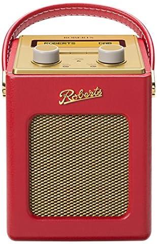 Roberts Radio REV-MINILE Revival Mini Radio FM/DAB/DAB+ Rouge