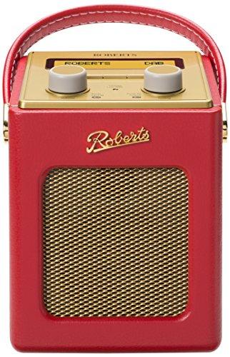 Roberts Radio Revival Mini DAB/DAB+/FM Digital Radio Red