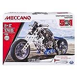MECCANO 6036044 - Jeu de Construction - Motos 5 Modèles