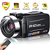 Camcorder Video Camera Full HD 1080p 30FPS Camcorder Camera 24MP 18x Digital Zoom