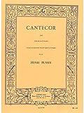 CANTECOR COR EN FA ET PIANO