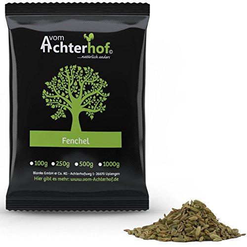 Fenchelsamen ganz (250g) | Fenchel Samen | Fencheltee | als Gewürz oder Tee natürlich vom Achterhof