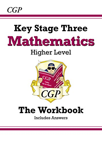 KS3 Maths Workbook (with answers) - Higher: Workbook and Answers Multipack - Levels 5-8 (CGP KS3 Maths)
