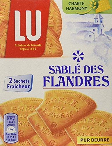 LU Sablé des Flandres 250 g - Lot de 8