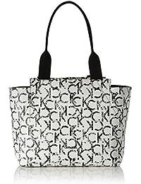 Calvin Klein Medium Reversible Femme Handbag Blanc