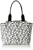 Calvin Klein IS4 Medium Reversible Tote, Bolsa para Mujer, Blanco (Ck Print), 13x26x28 cm (b x h x t)