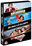 Will Ferrell: Anchorman / Blades of Glory / Old School [3 DVDs] (UK Import)