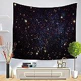 jzxjzx Tapisserie Sterne Universum Serie Wandbehang Stranddecke 6 130 * 150