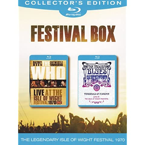 Festival Box - The Who - Live at the isle of Wight festival 1970 + The Moody Blues - Threshold of dream - Live at the isle of Wight festival 1970