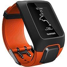 TomTom Adventurer - Reloj deportivo, 3 GB, GPS, pulsómetro integrado, más de 500 canciones, modo Multisport, Bluetooth Smart, 143 - 206 mm, color naranja