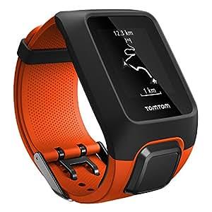 TomTom Adventurer Orologio GPS per Outdoor, Cardiofrequenzimetro e Music Player Integrato, Rilevamento Attività Outdoor, Esplorazione del Percorso, Arancione