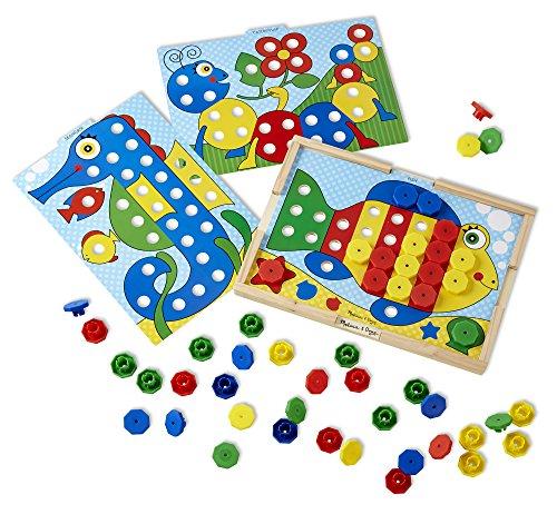 melissa-doug-14313-jeu-educatif-et-scientifique-appariement-de-couleurs-tri-et-enclenchement