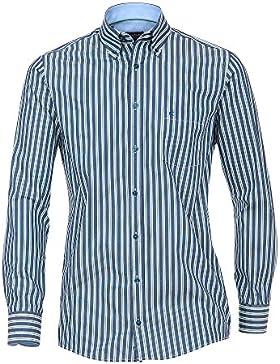 CASAMODA SPORTS Herren Freizeithemd 100% Baumwolle - auch große Größen Comfort Fit