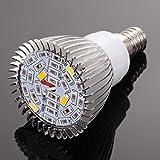 Rrimin Premium Quality Full Spectrum 28W E14 LED Grow Light AC85-265V LED Growing Lamp Plant Light