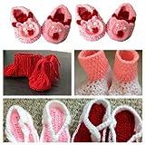 six beautiful Hand Made Crochet woolen b...