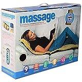 Scienish 9 Motors Full Body Massager Vibration Heat 9 Motors Massage Bed