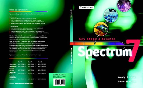 Spectrum Year 7 Class Book (Spectrum Key Stage 3 Science)