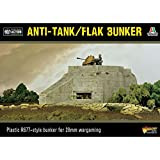 Warlord Games Anti Tank / Flak Bunker - Bolt Action