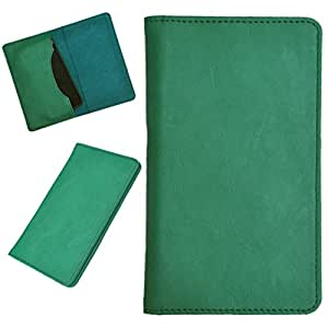 DCR Pu Leather case cover for Lenovo A516 (green)