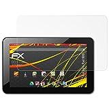 atFolix Schutzfolie kompatibel mit Xoro Pad 900 Bildschirmschutzfolie, HD-Entspiegelung FX Folie (2X)