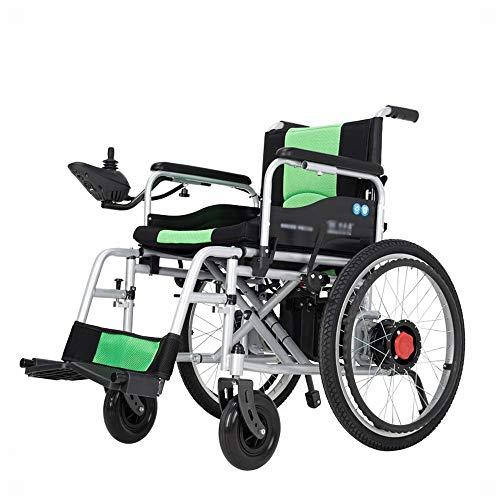 GZZ Elektrischer Rollstuhl, Alter Faltbarer Tragbarer R… | 08885545544576